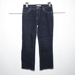 Chico's quartz womens jeans size 1 S 5641